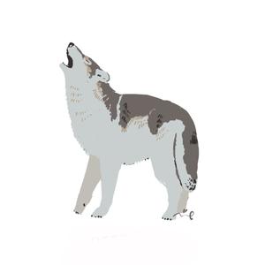 お好きな動物をほっこりシンプルに描きます