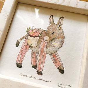 【アナログ】ご家族の動物、お好きな動物をおしゃれに描きます