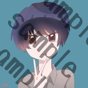 【8月限定】2000円でアイコン描きます