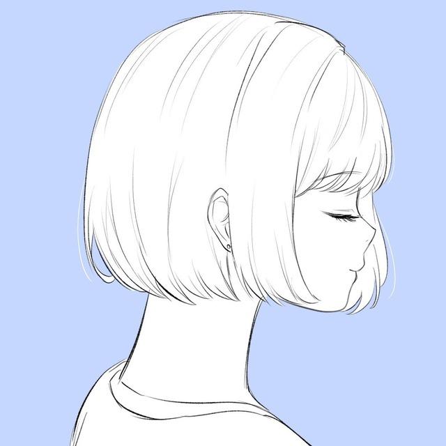 イラスト シンプル 女の子