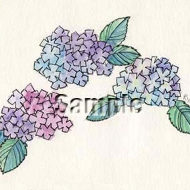 世界に1枚だけのゆるゆる水彩イラスト描きます!