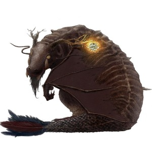 リアルなドラゴン描きます