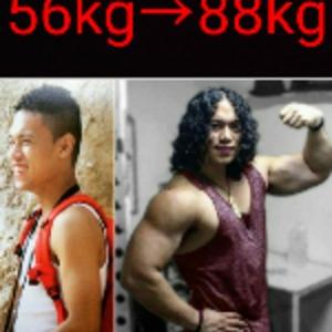 筋肉をつける為のトレーニング