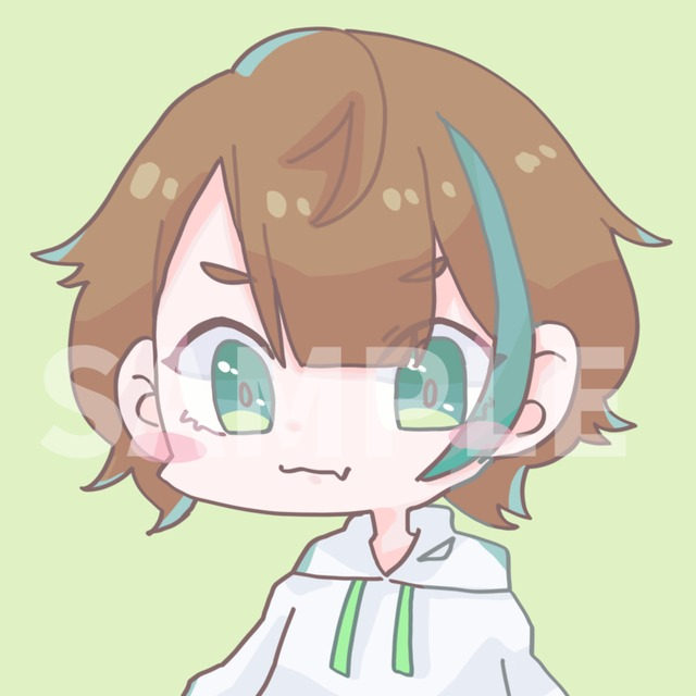 可愛いSNS用アイコン!