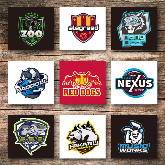 プロがあなたのチームロゴをデザインします。
