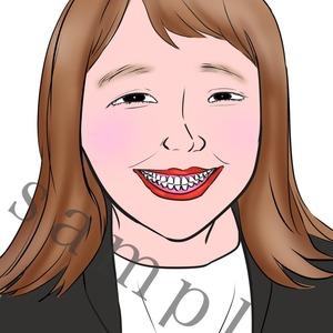 似顔絵アイコンお描きします。