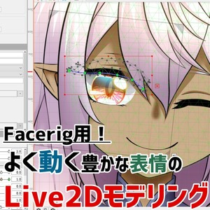 Facerig用!Live2Dモデリングいたします