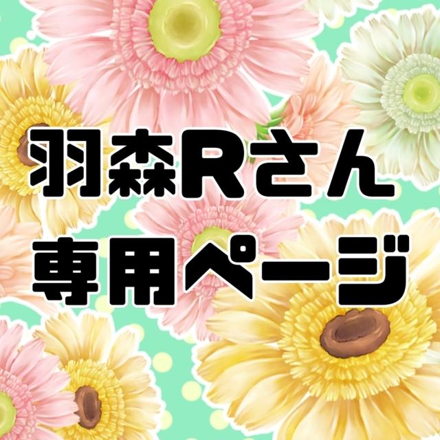 羽森Rさん専用ページ