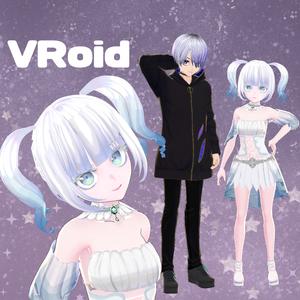 VRoidで3Dモデルアバターを作成します!