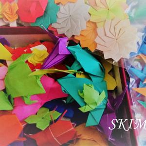 【折り紙作品作成】折り紙、ご希望の折り方で折ります。