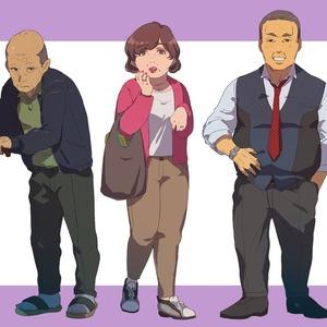 TRPGのキャラクターイラストを作成します!