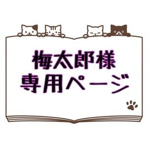 梅太郎様専用ページ