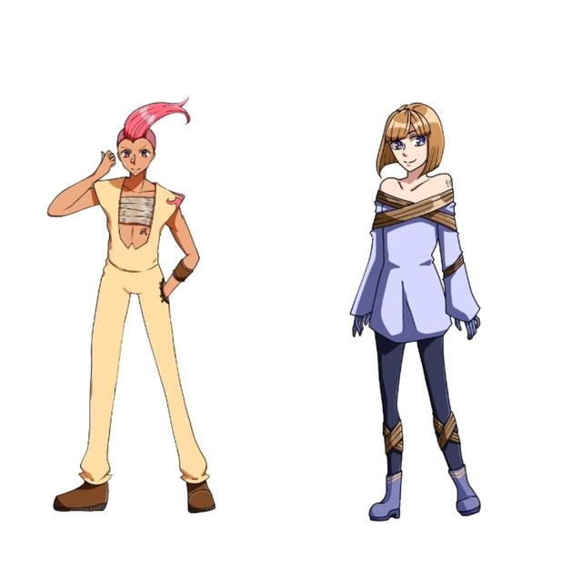 ざっくりとしたキャラクターデザインをお作りします。