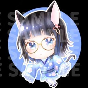 SD・ミニキャラキャラクターイラスト、スタンプ