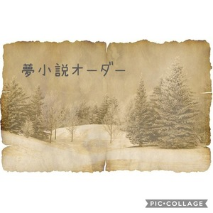 夢小説オーダーページ