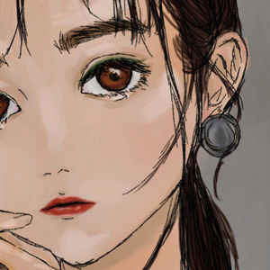 アイコン 私の絵柄で描きます