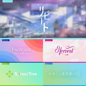 【同人誌/MV/ネーム用】現役エンタメ系デザイナーがロゴを制作!