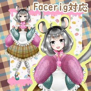 FaceRig用キャラクターデザイン作成します