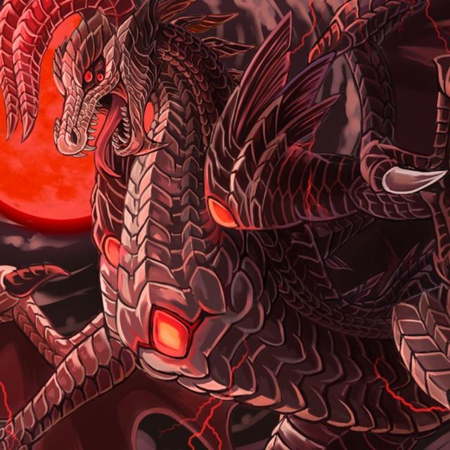 一枚絵描きます(ドラゴン、竜やクリーチャーなど可)