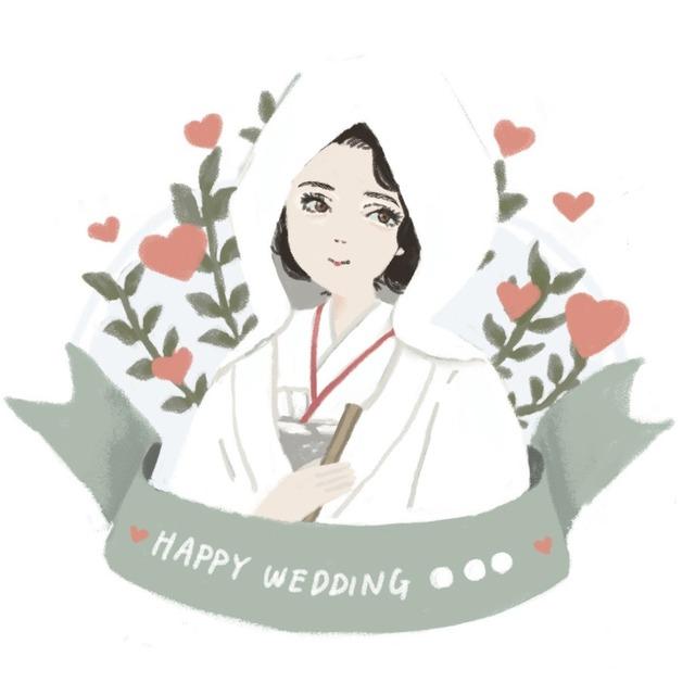 似顔絵イラスト【ウェルカムボード、記念日などに】