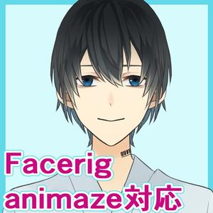 【Facerig/animaze対応】被験体くん