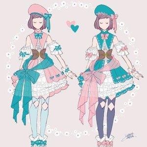 キャラクター衣装デザイン