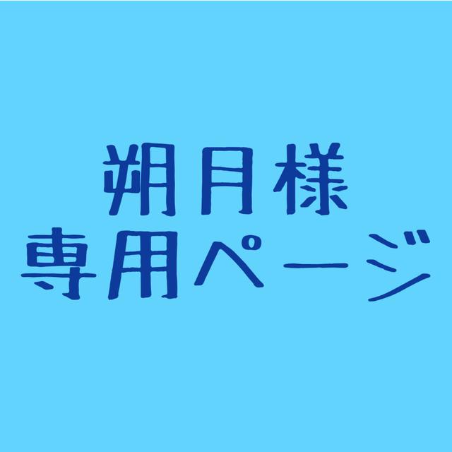 朔月様 ご依頼専用ページ