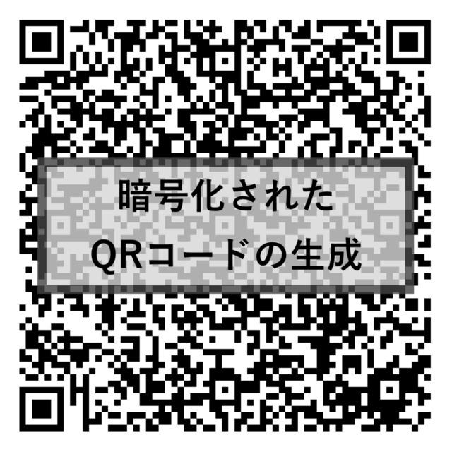 暗号化されたQRコードの作成