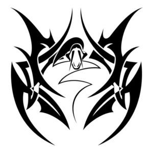 トライバル柄-snake