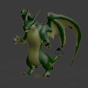 キャラクターの3Dモデリング