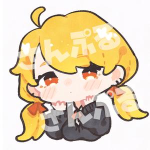 SNSアイコン制作【デフォルメ】