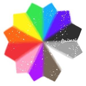 カラーセラピー。身近な色を使った色彩療法です。