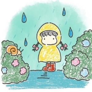 6月 雨の日 【挿絵、表紙、アイコン描きます】