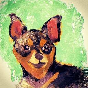 動物 イラスト 似顔絵