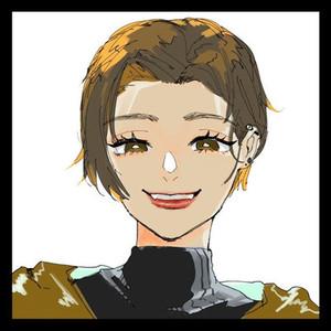 キャラクター化して似顔絵を描きます!