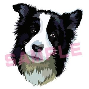 美大卒デザイナーがペットや動物の似顔絵を描きます
