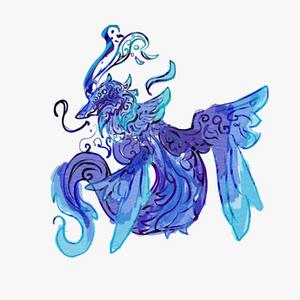 ドラゴンなどの幻獣のトライバルデザイン承ります!