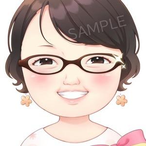 かわいい似顔絵描きます!