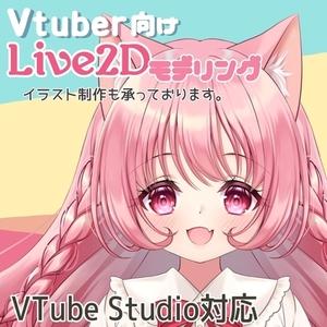 VTuber向けLive2Dモデリング制作【VTube Studio対応】