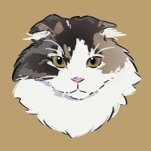 動物のアイコンを描きます