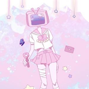 【SNSアイコン用】テレビちゃん