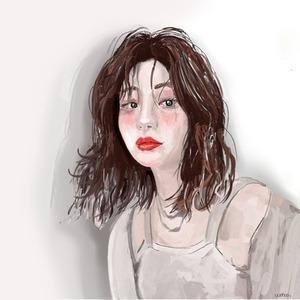 雰囲気のある可愛い似顔絵描きます