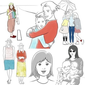 商用OK♡オシャレ線画イラスト描きます