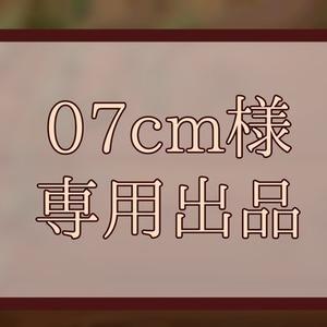 07cm専用出品