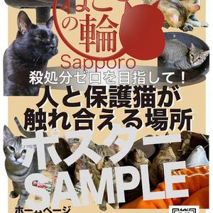 保護猫活動されてる方のPR広告をお作りしてます。