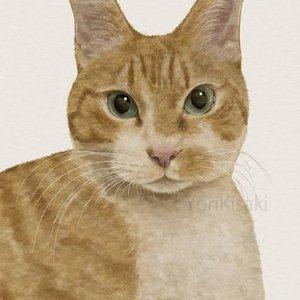 ペットの肖像画を描きます